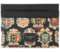 coat of arms print cardholder
