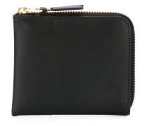 'Colour Plain' zip around wallet