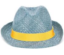Panama-Hut mit gelbem Band