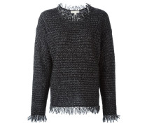 - Pullover mit Fransen - women