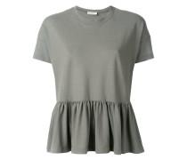 T-Shirt mit gerüschtem Saum - women - Baumwolle