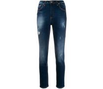 Jeans in Acid-Wash-Optik