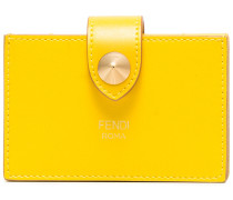 Yellow Compact Leather Wallet