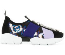 printed embellished sneakers