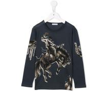 Langarmshirt mit Cowboy-Print - kids