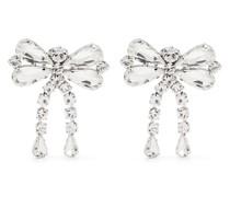 Kristall-Ohrringe mit Schleife