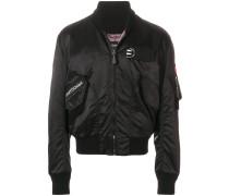 patch bomber jacket