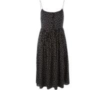 Camisole-Kleid mit Punkten