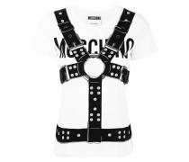 T-Shirt mit Harness-Print