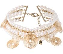 'Armonia' Choker mit Perlen