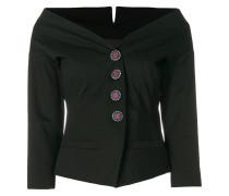 embellished button jacket