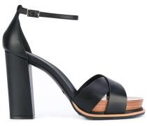 Sandalen mit Blockabsatz - women - Leder/Foam