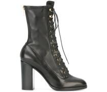 Geschnürte Stiefel - women - Leder/rubber - 39