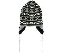 fair isle knit beanie
