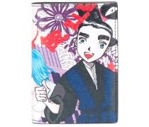 'Manga' Kartenetui mit Print