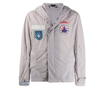 Military-Jacke mit Patches