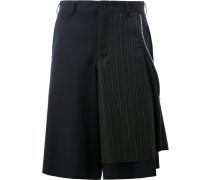Shorts im Lagen-Look mit Reißverschluss - men