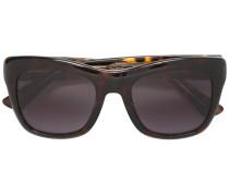 Rechteckige 'GG' Sonnenbrille in