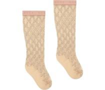 GG crystal-embellished socks