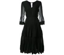 Ausgestelltes Kleid - women - Seide - 6