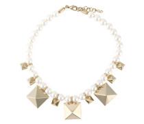 Garavani 'Rockstud' Perlenkette mit Nieten