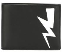 Lightning bolt billfold wallet