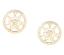 Medusa logo stud earrings