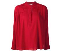 Henley-Bluse mit langen Ärmeln
