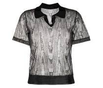 Poloshirt im Distressed-Look