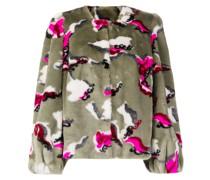 Zaria faux-fur jacket