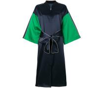 Seiden-Kimono mit Reißverschluss