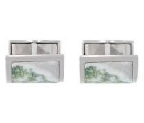 Manschettenknöpfe mit Marmor-Print