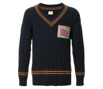union jack patch jumper