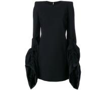 Kleid mit strukturierten Ärmeln