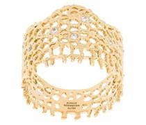 'Vintage Lace' Ring mit Diamanten