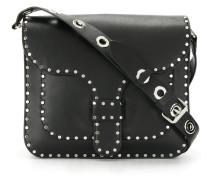 studded crossbody satchel
