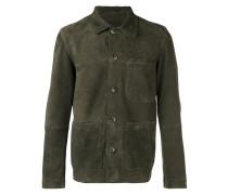 Lederjacke mit aufgesetzten Taschen - men