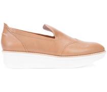 Plateau-Loafer mit Kontrastsohle - women