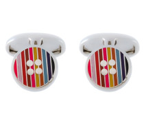 Manschettenknöpfe im Knopfdesign