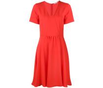 Ausgestelltes Kleid mit V-Ausschnitt - women