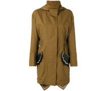 scallop pocket parka