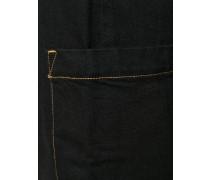 Schmale Cropped-Hose