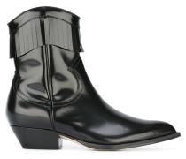 Cowboy-Stiefel mit Reißverschluss