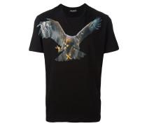 - T-Shirt mit Adler-Print - men - Baumwolle - S