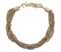 chain logo bracelet