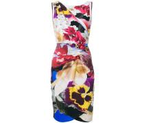folded floral dress