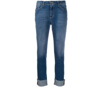 Halbhohe 'Angelina' Cropped-Jeans