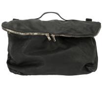 flap zipped crossbody bag