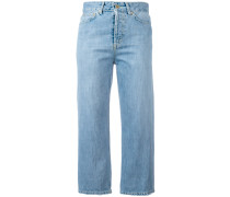 'Shocking' Cropped-Jeans