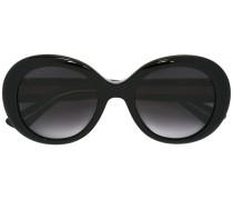 Ovale 'GG' Sonnenbrille - unisex - Acetat